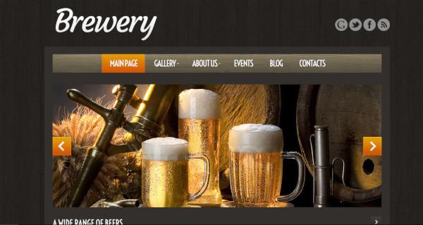 Craft Beer Unique WordPress Theme
