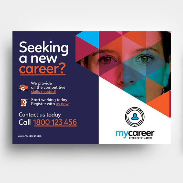 Creative Recruitment Agency Flyer Sample