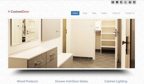 custom-door-customized-wordpress-theme