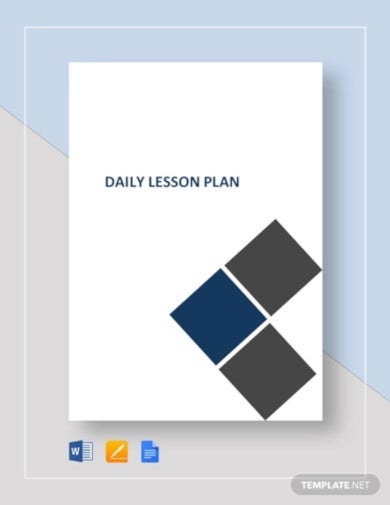 daily lesson plan template1