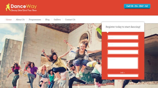 danceway-responsive-wordpress-theme