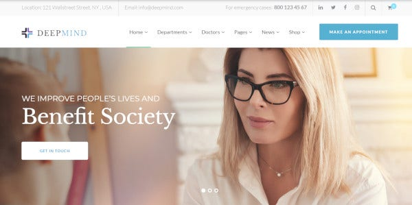 deep mind a wordpress theme for psychological help