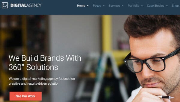 digital agency – just another the web design factory sites site