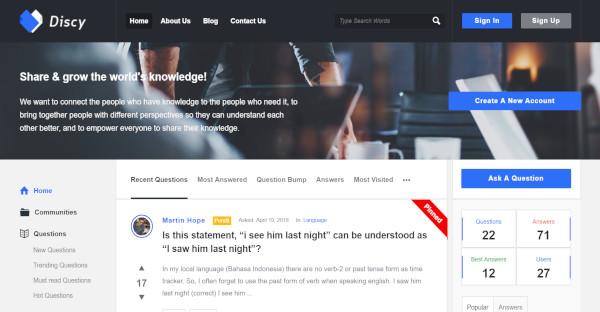 Discy - Responsive WordPress Theme