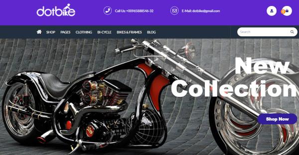dotbike – cross browser wordpress theme