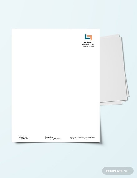 download-marketing-agency-letter-head-template
