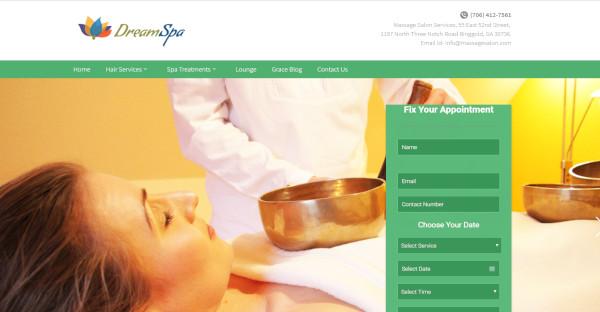 Dreamspa - Beauty and Body Massage WordPress Theme
