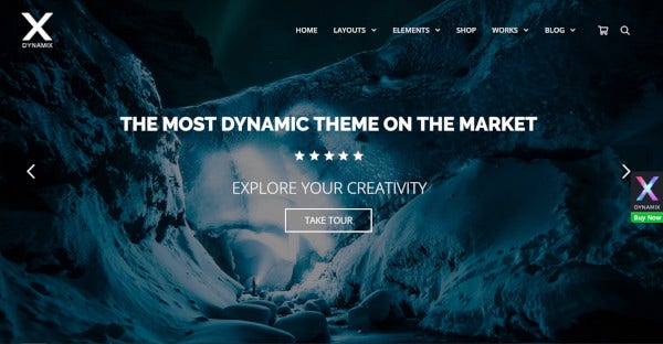 dynamix mobile optimized wordpress theme