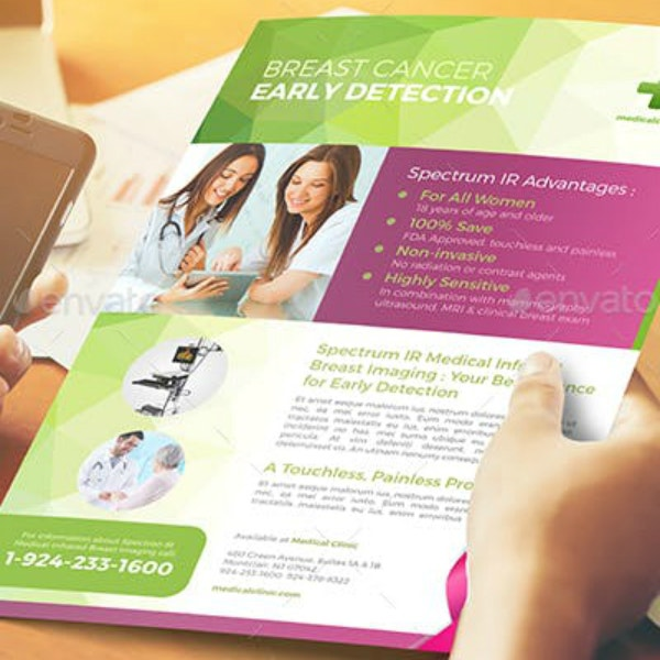 Early Cancer Detection Flyer Example