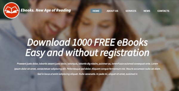 ebooks-bootstrap-wordpress-theme