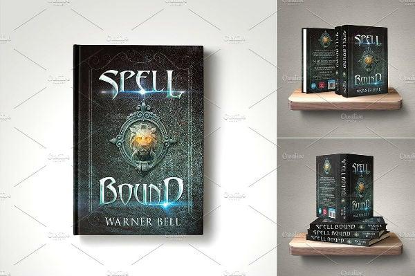 elegant fantasy book cover template
