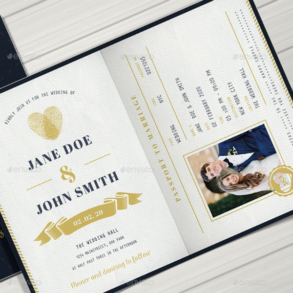 how to make a passport invitation  10  templates