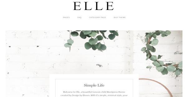 Elle – Responsive WordPress Theme