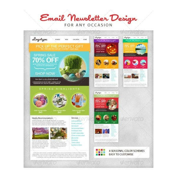 email newsletter design template2