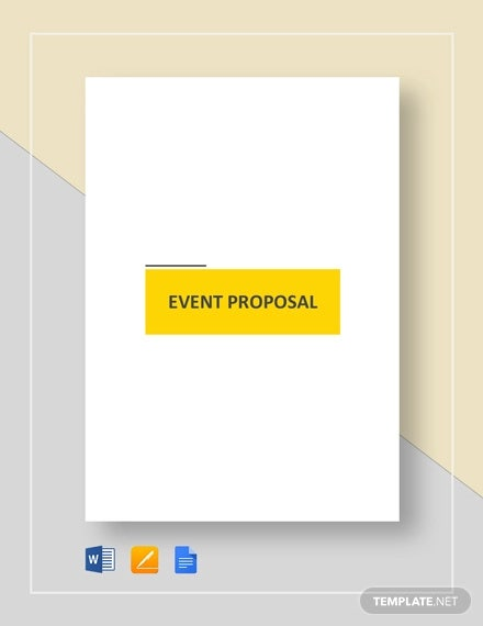 event proposal example