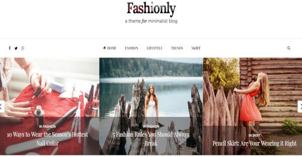 Fashionly - 500 Google Fonts WordPress Theme