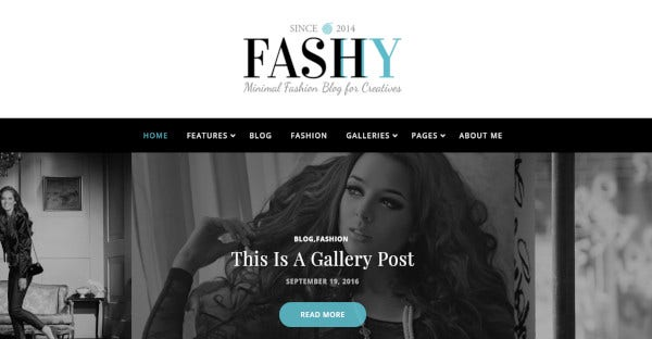 fashy retina ready wordpress theme