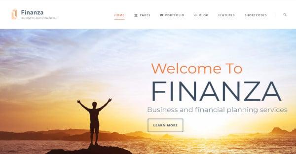 finanza wordpress theme for finance