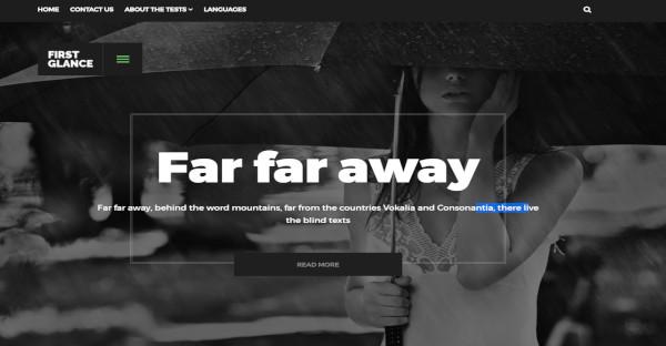 FirstGlance - ECWID Compatible WordPress Theme