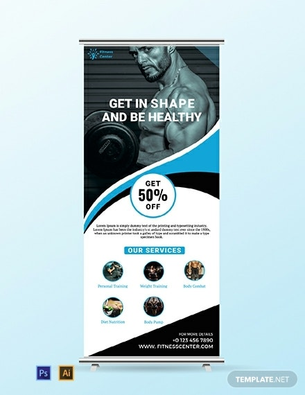 fitness-roll-up-banner-template