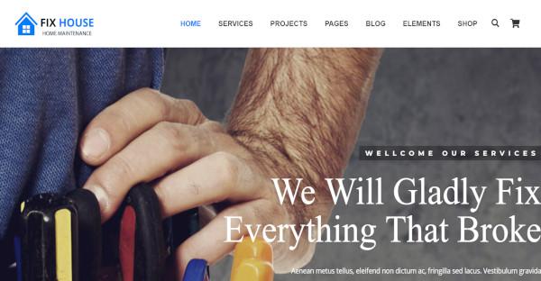FixHouse - WPBakery WordPress Theme