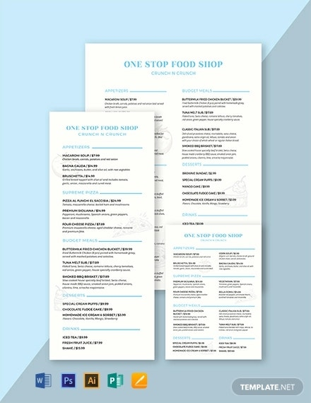 food-and-drinks-menu-template