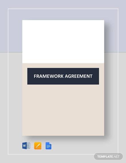 framework agreement template