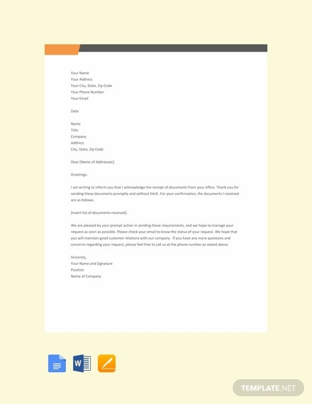 free acknowledgement letter for receiving documents 440x570 1