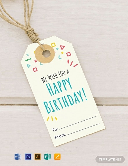free birthday gift tag template 440x570 1