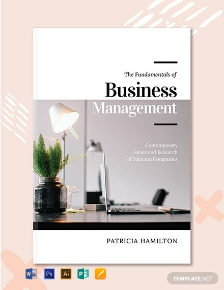 free business management book cover template 440x570 1