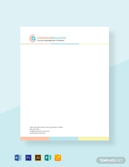 free ca letterhead template 440x570 1