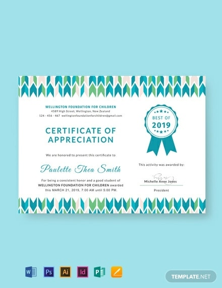 free-certificate-of-appreciation-for-student-template