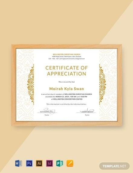 free church certificate of appreciation template 440x570 1
