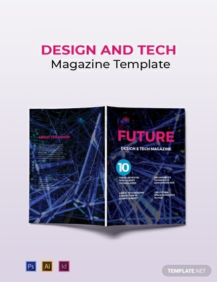 free design and tech magazine template 440x570 1