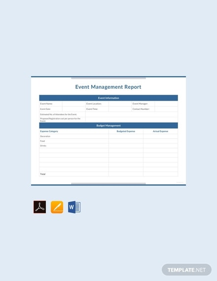 free event management report template 440x570 1