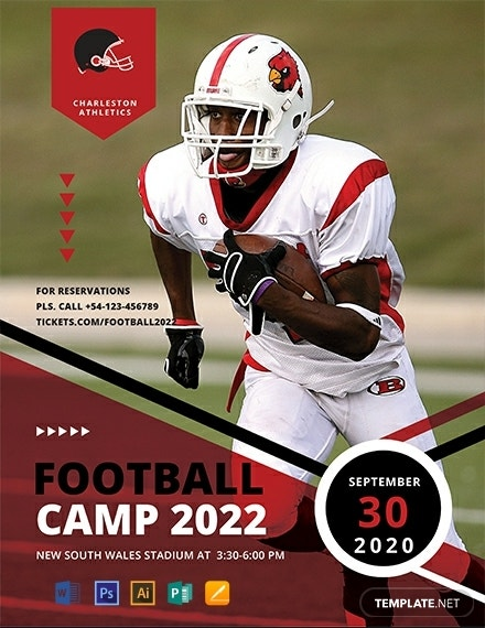 free football camp flyer 440x570 1