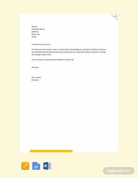 free job training acknowledgement letter 440x570 1