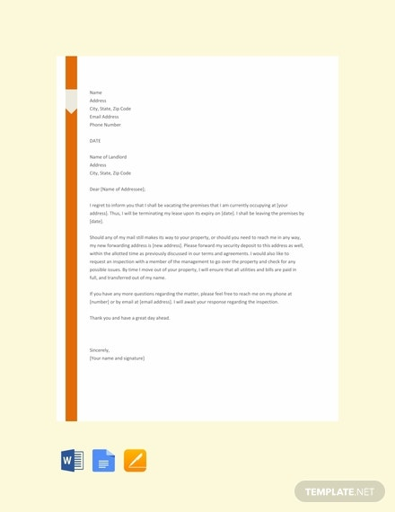 free lease termination letter template 440x570 1