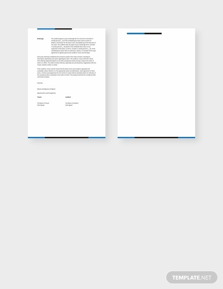 free letter of intent to lease template 440x570 4