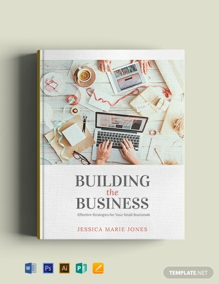 free small business book cover template 440x570 1
