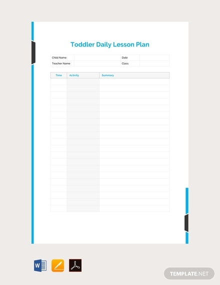 free toddler daily lesson plan template 440x570 1