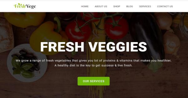 freshvege css plugin wordpress theme