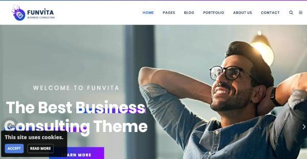funvita – user friendly wordpress theme