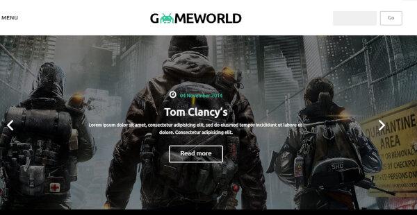 gameworldtheme