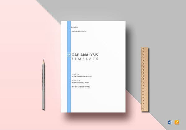 gap analysis template mockup1