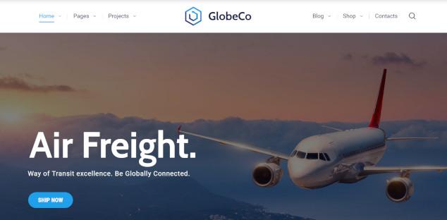 globeco – retina ready wordpress theme