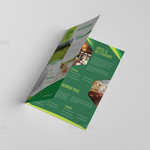 Golf Course Resort Brochure Design