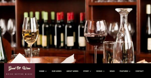 Good Ol' Wine WPML WordPress Theme