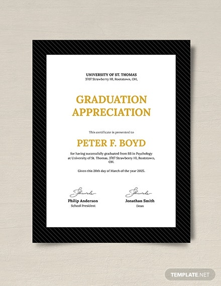 graduation appreciation certificate download1
