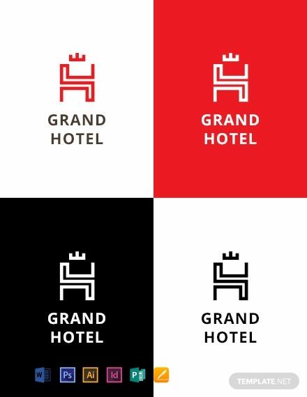 grand hotel company logo template